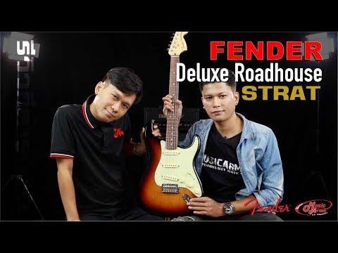 รีวิวกีต้าร์ไฟฟ้า Fender Deluxe Roadhouse Strat Stratocaster
