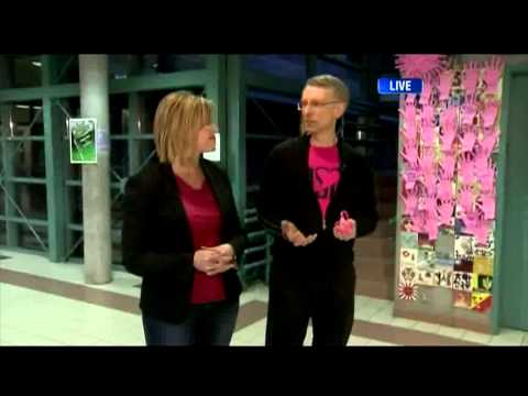 BT Vancouver: Dawn Heads To Walnut Grove Secondary For Pink Shirt Day