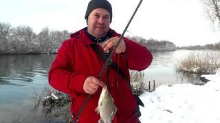 Отчет о Ванькиной с Виктором рыбалке 13 января Днестр