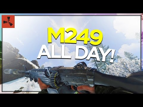 RAID DAY with M249! (DUO VANILLA RUST #9 S9) thumbnail