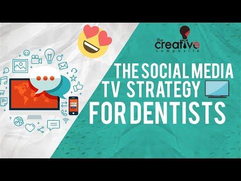 Social Media TV Strategy For Dental/Dentist Marketing