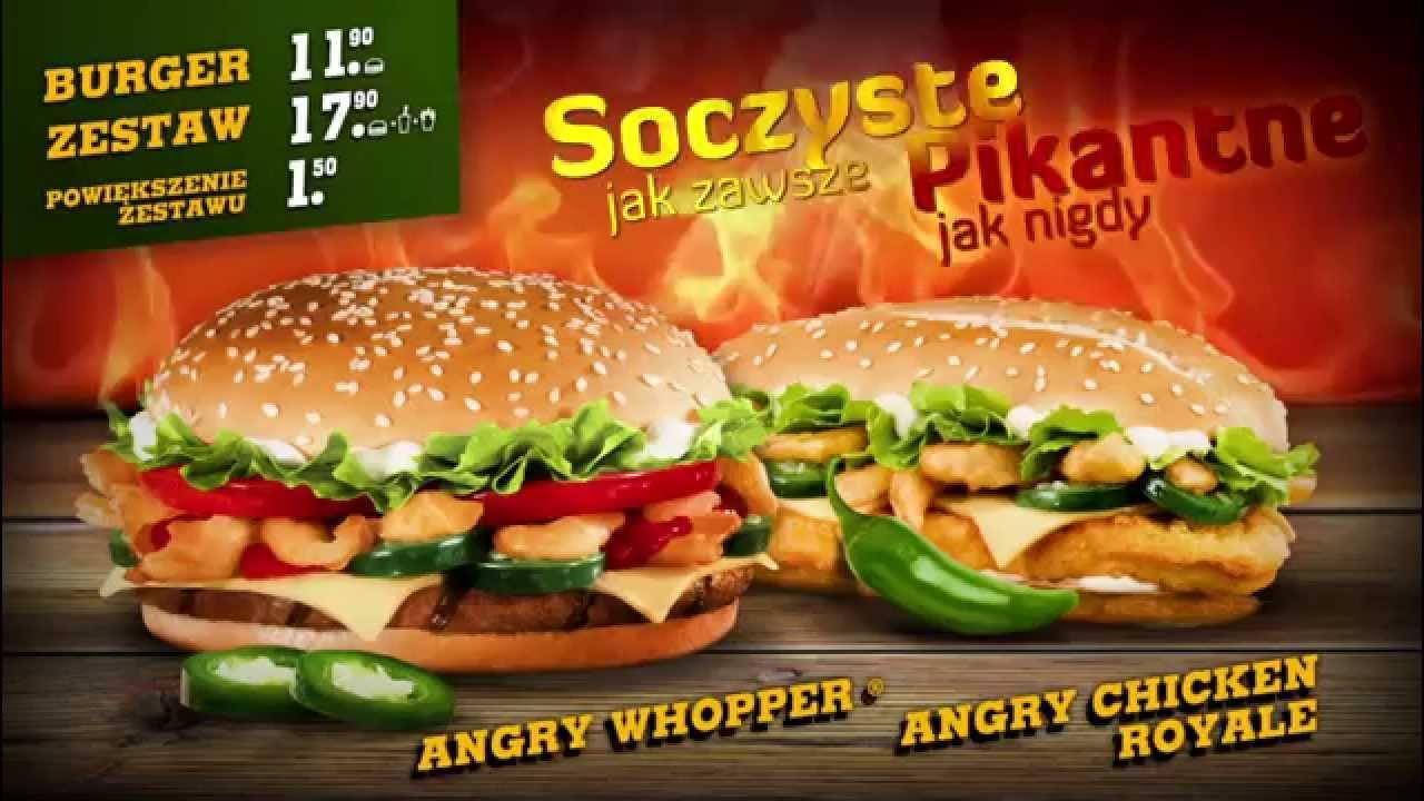 Reklama Burger King