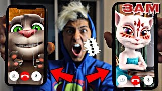 DO NOT FACETIME TALKING ANGELA AND TALKING TOM AT 3AM!! *OMG I LOST MY VOICE*