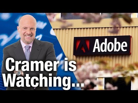 TheStreet's Jim Cramer Is Watching Adobe's Quarterly Results on Thursday