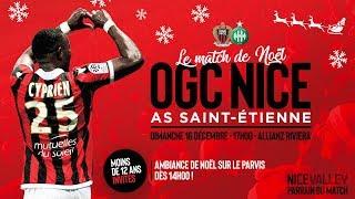 OGC Nice - St Etienne : bande-annonce du match de Noël 2018