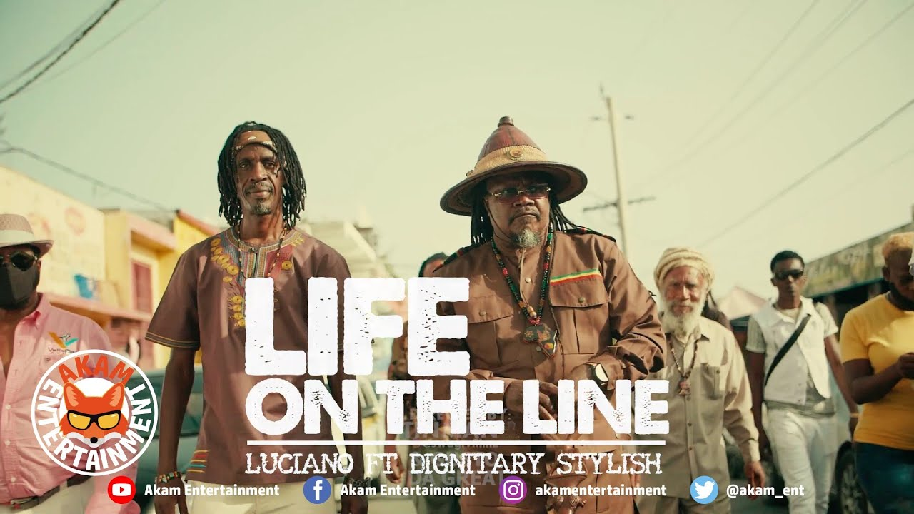 DOWNLOAD: Luciano Ft. Dignitary Stylish – Life Is On The Line [Official Music Video HD] Mp4 song