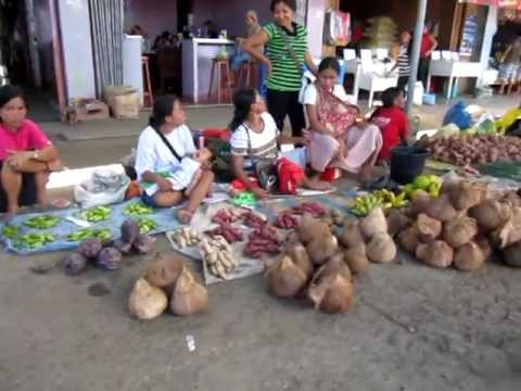 February 2013, Quezon, Palawan, Market