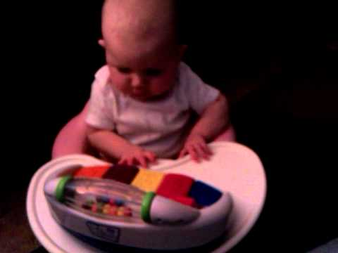 Sophie explores music and motor control