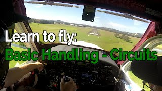 RECREATIONAL PILOT CERTIFICATE: Flying Lesson #2 - Basic Handling - Circuits | Audio