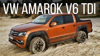 Таких Amarok больше не будет! Обзор и тест-драйв Volkswagen Amarok V6 TDI