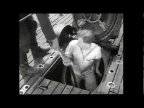Idrovolante Cant Z.506 e sommergibile Enrico Toti
