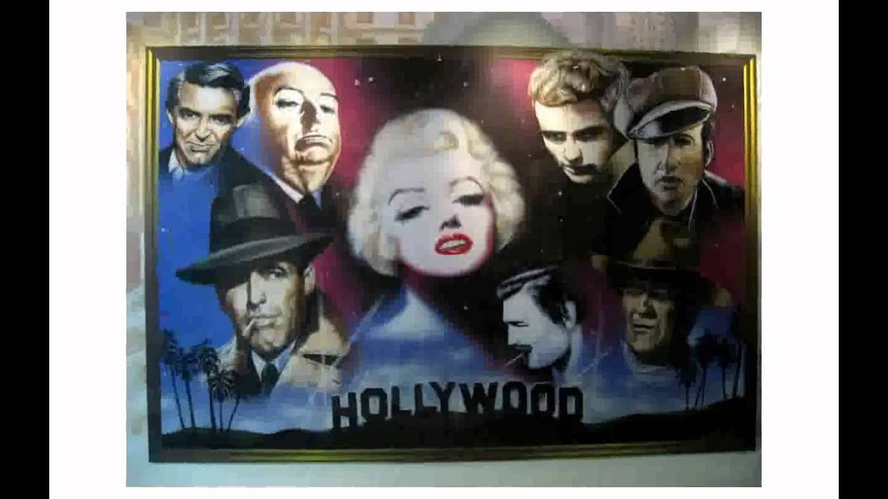 Hollywood Mottoparty Hollywood Dekoration