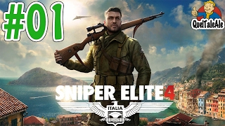 Sniper Elite 4 - Gameplay ITA - Walkthrough #01 - Isola di San Celini