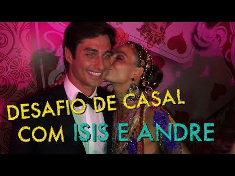 VLOG: Desafio de Casal com Isis Valverde e Andre Resende HotelMazzafera