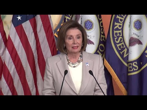 Watch live: Pelosi speaks to reporters day after heated meeting with Trump