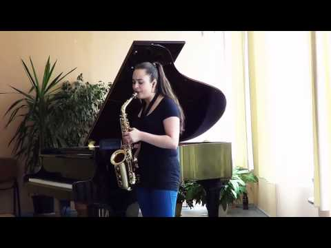 Jason Derulo - 'TALK DIRTY' Alto Sax Cover By Anahit Sargsyan