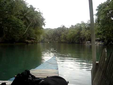 River boat trip in Bohol, Philippines