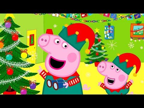 Свинка Пеппа на Pусском | Новогоднее настроение | Мультики