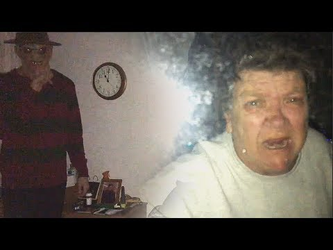 FREDDY KRUEGER PRANK ON GRANDMA!