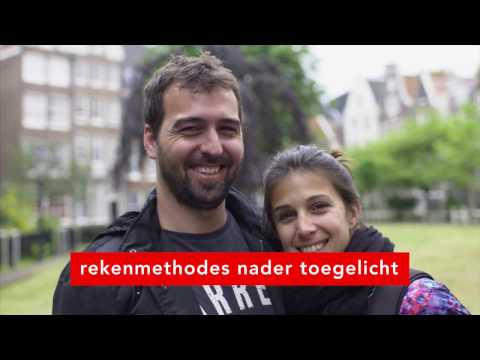 Amsterdam Metropolitan Area Visitors Research project Rekenmethodes Dutch