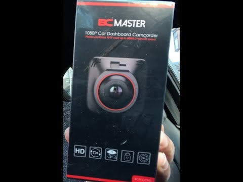 BC Master 1080p Dashcam Review With Footage | Latest 2018