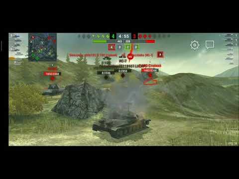 Обычный бой на ИС-7 WoTb#1