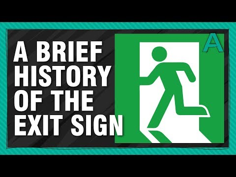 A Brief History of the Exit Sign | ARTiculations