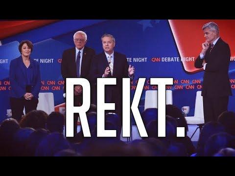 Bernie Sanders Wiped the Floor With Graham & Cassidy at CNN's Healthcare Debate