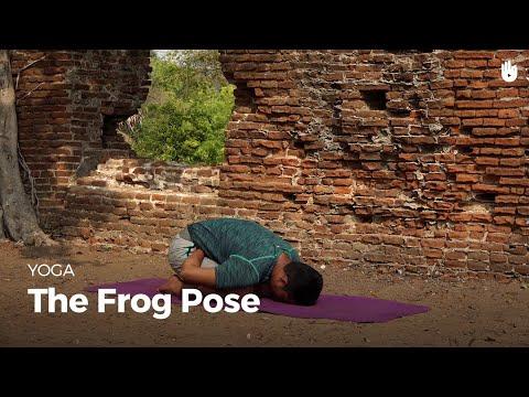 Learn the Frog Pose Mandukasana | Yoga