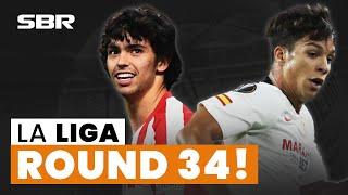 La Liga Week 34 Football Match Tips, Odds & Predictions