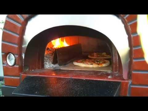 Forno a legna speedy pizza 2 di fiore forni in vendita su - Temperatura forno a legna pizza ...