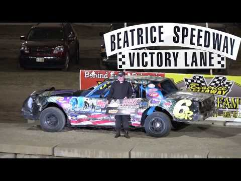8/4/2017 Beatrice Speedway Hobby Stock Feature - 6R Wins