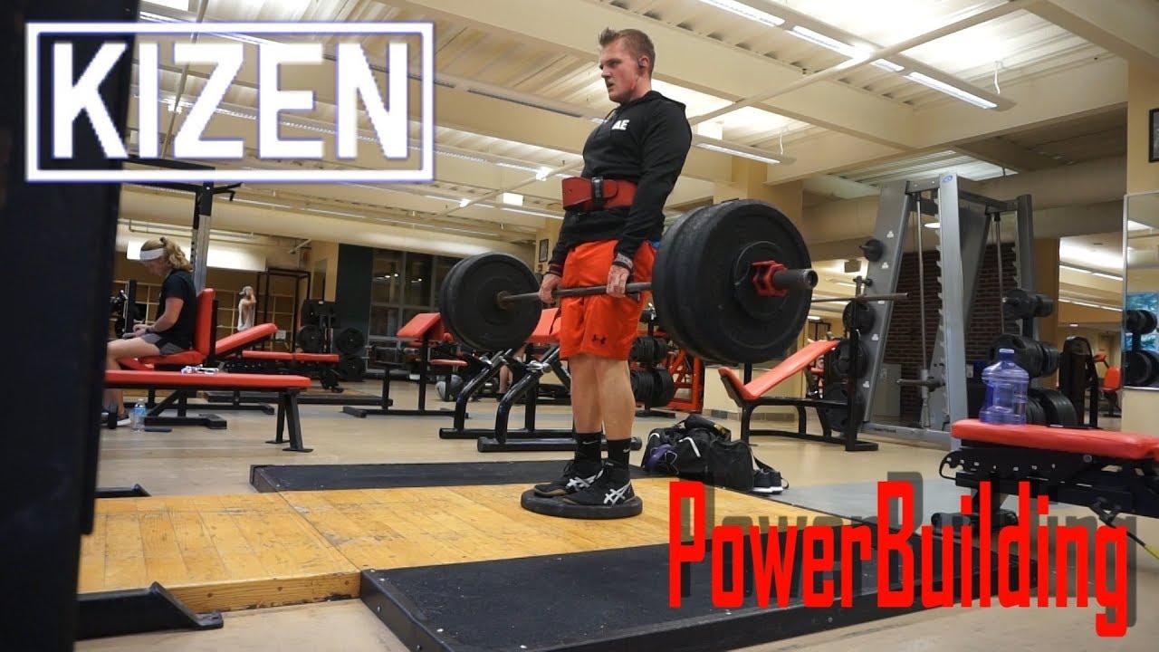 KIZEN Training   16 Week PowerBuilding Program   Ep 1 Week 2 Day 2