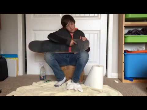 How to clean your griptape without gripgum
