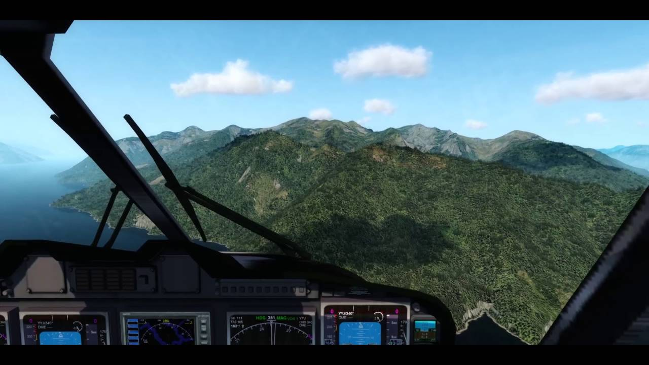 Prepar3D - Virtavia EH101 Merlin - FTX Bella Coola to Campbell Island