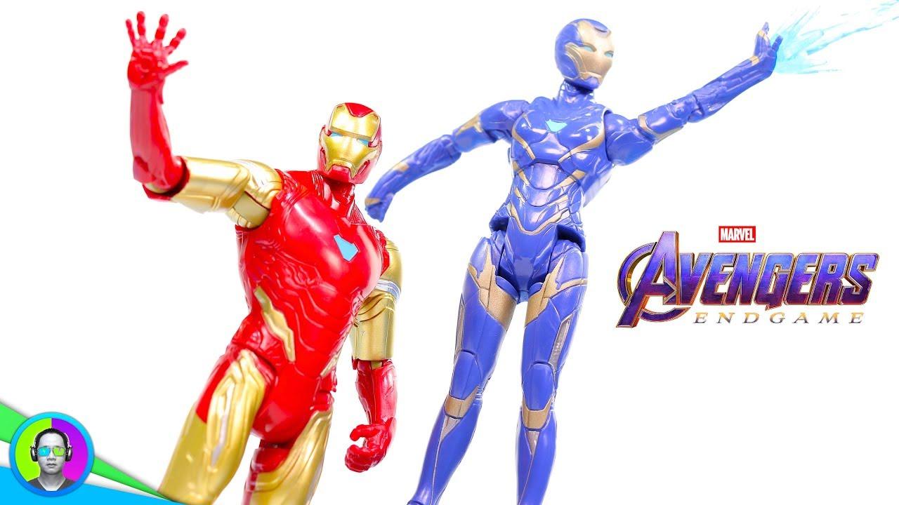 "AVENGERS 4 ENDGAME 6/"" 2-Pack Action Figure Iron Man Pepper Potts Rescue Armor"