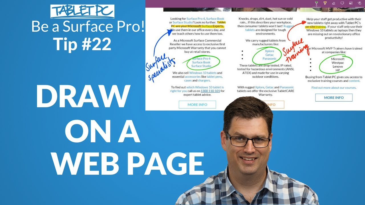 How to draw on a web page