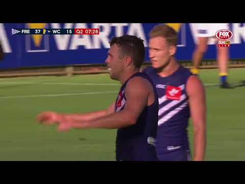 Fremantle v West Coast Highlights - AFL JLT Community Series 2018