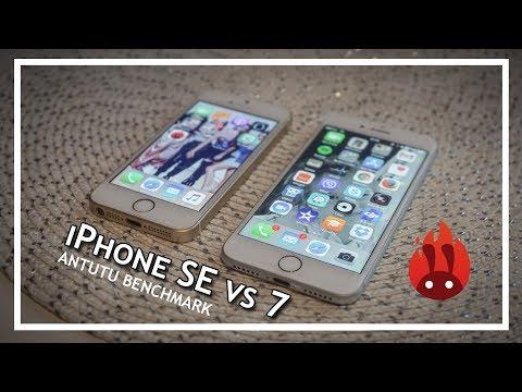 IPhone SE Vs IPhone 7 Antutu Benchmark