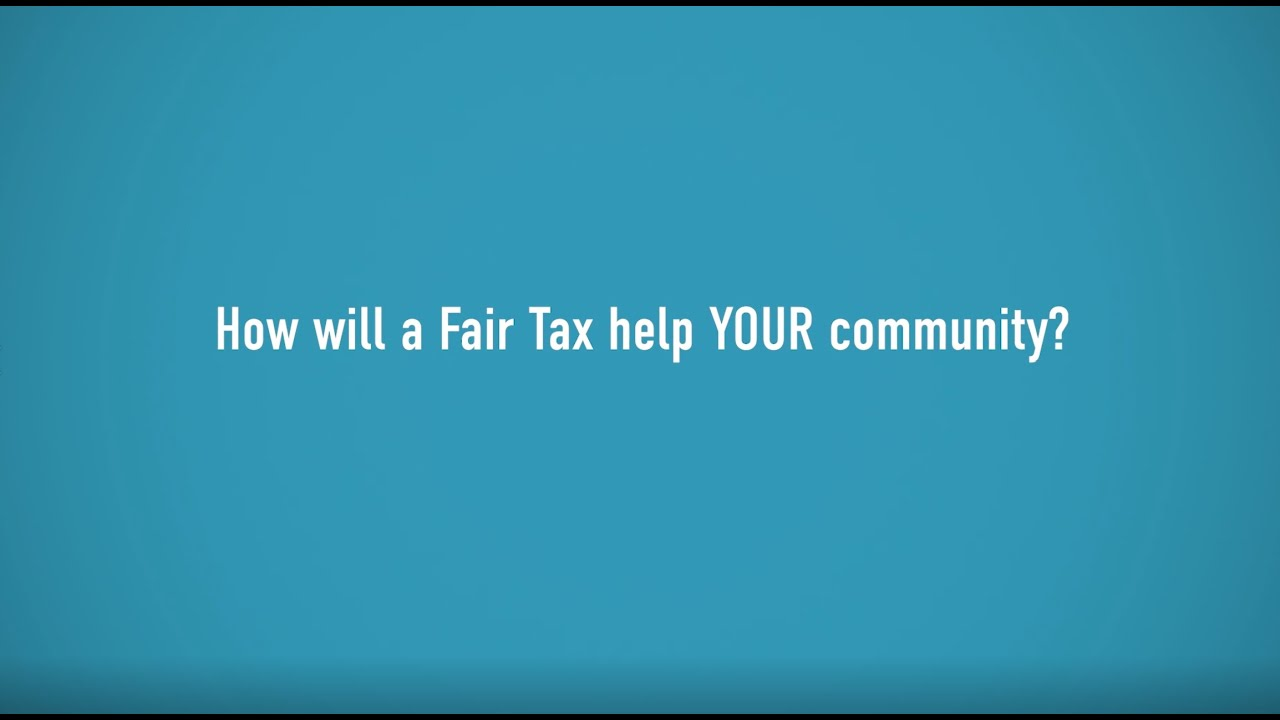 Our Communities Need the Fair Tax
