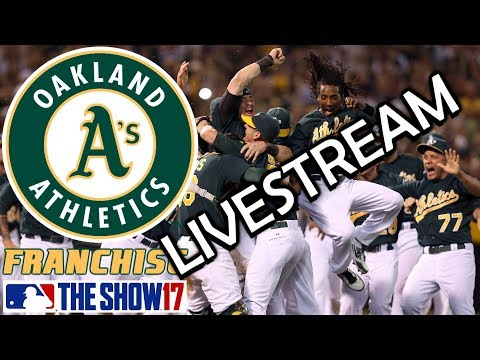 DYNASTY in OAKLAND? - MLB The Show 17 - Franchise Mode - Oakland ep. 28