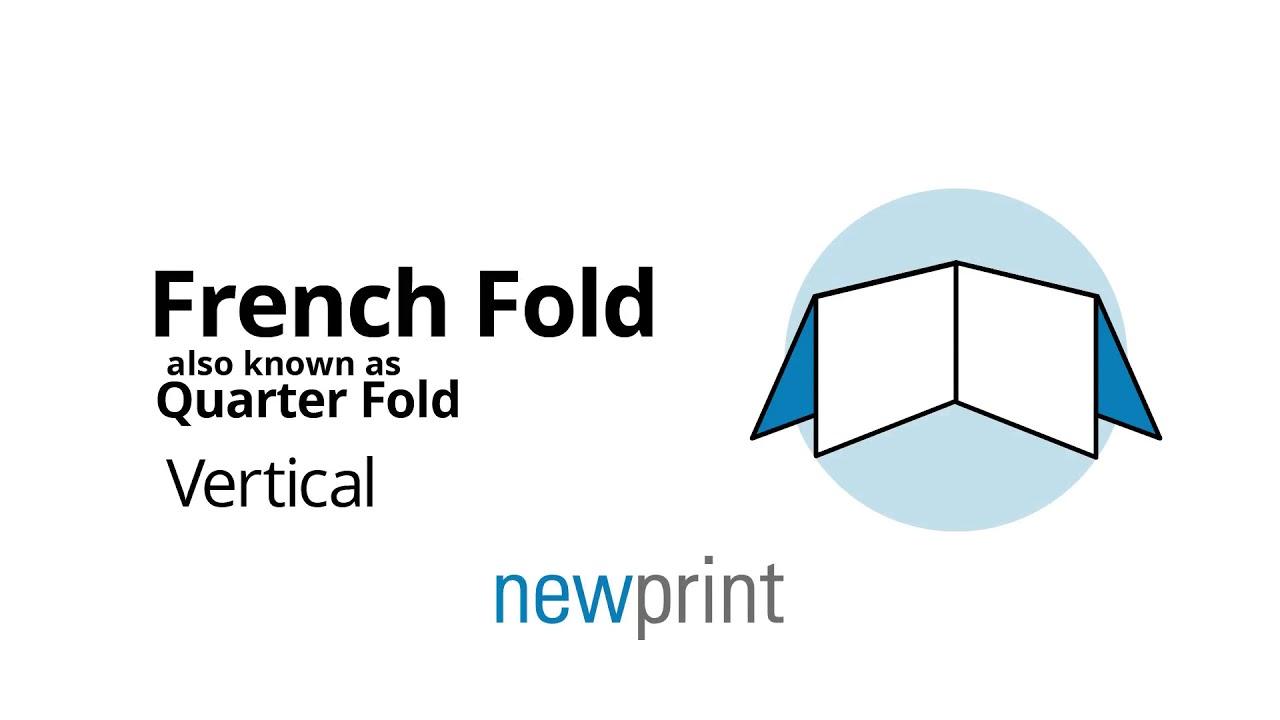 french fold quarter fold vertical brochure youtube
