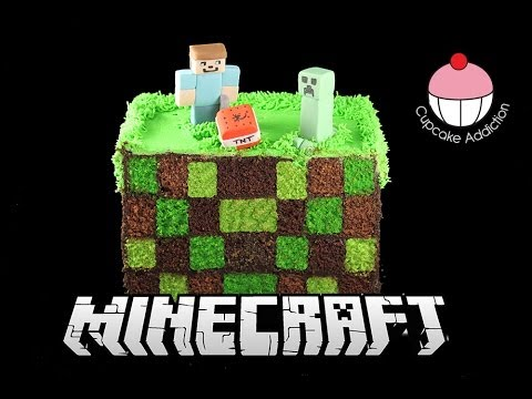 Square Checkerboard Minecraft Cake How To Make A Surprise