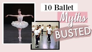 10 Ballet Myths BUSTED | Kathryn Morgan