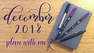 Plan With Me | December 2018