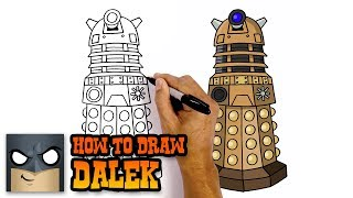 doctor who drawing lesson