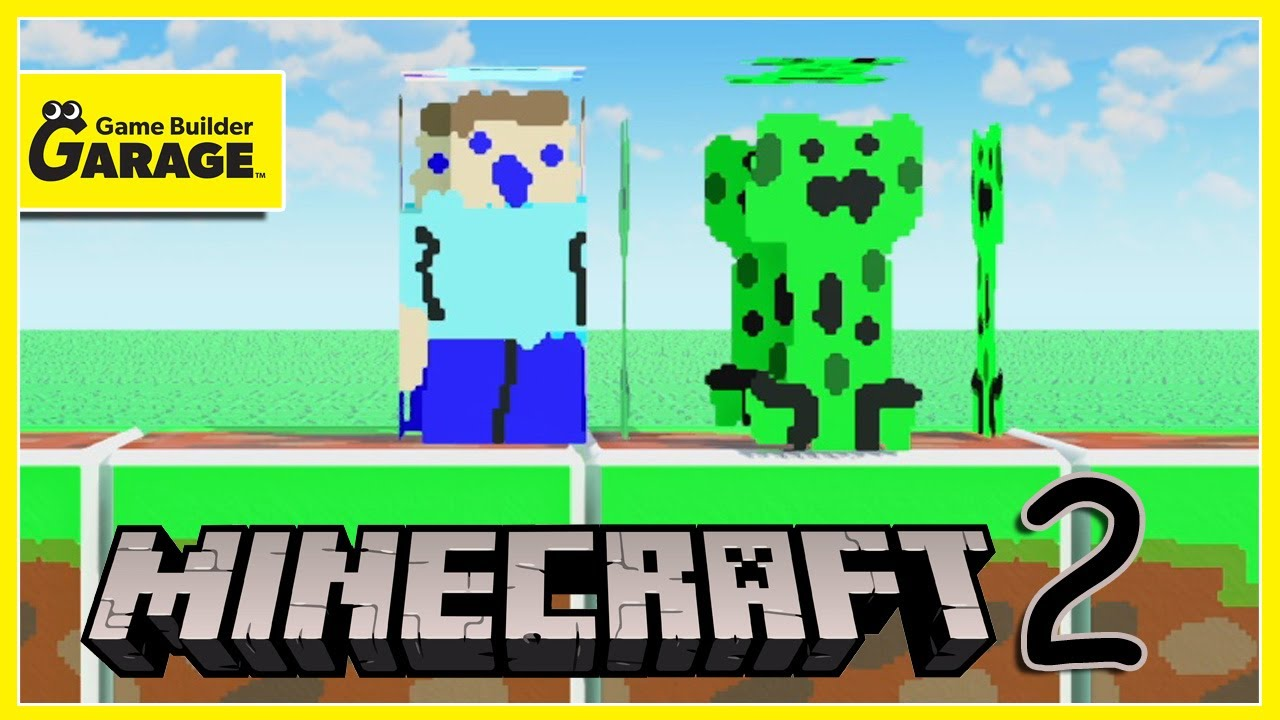 MINECRAFT 2: Only Available In Game Builder Garage