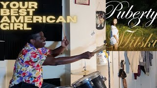 MItski - Your Best American Girl (Drum Cover) | A Favorite from Puberty 2