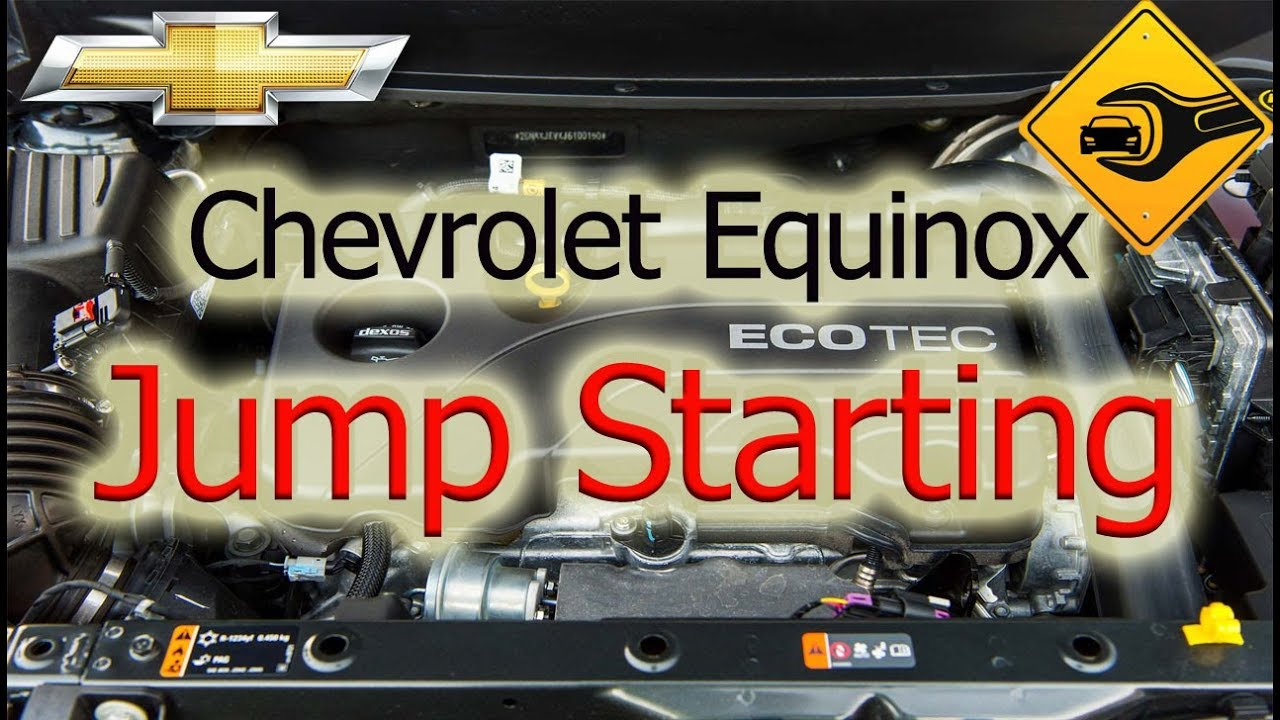hight resolution of chevrolet equinox jump starting