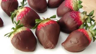 How To Make Chocolate Covered Strawberries - By Laura Vitale - Laura In The Kitchen Ep. 99